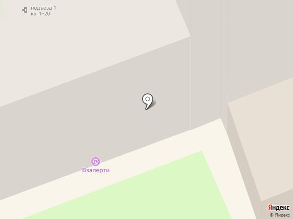 Взаперти на карте Великого Новгорода