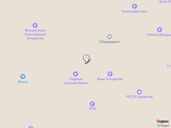 GSM на карте Великого Новгорода
