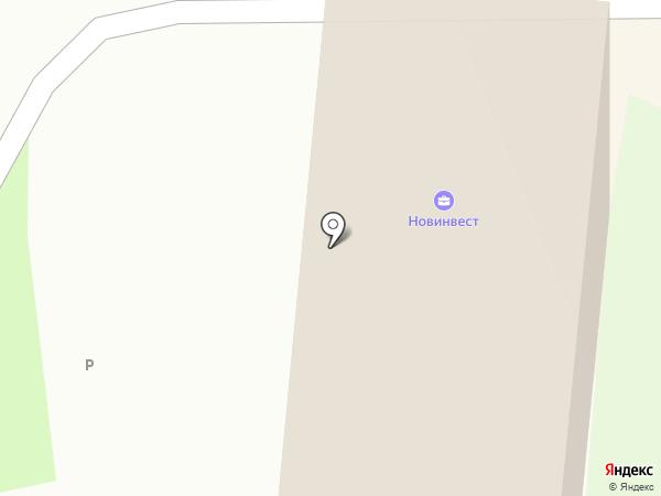 Стора Энсо Форест Вэст на карте Великого Новгорода