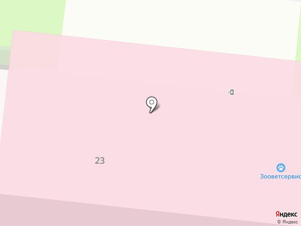 Зооветсервис на карте Великого Новгорода