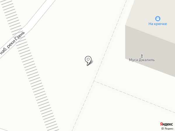 Путевая реклама на карте Великого Новгорода