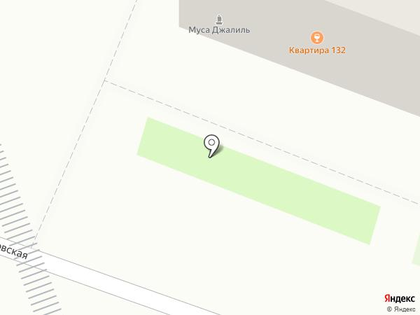 ВПИВЕ на карте Великого Новгорода