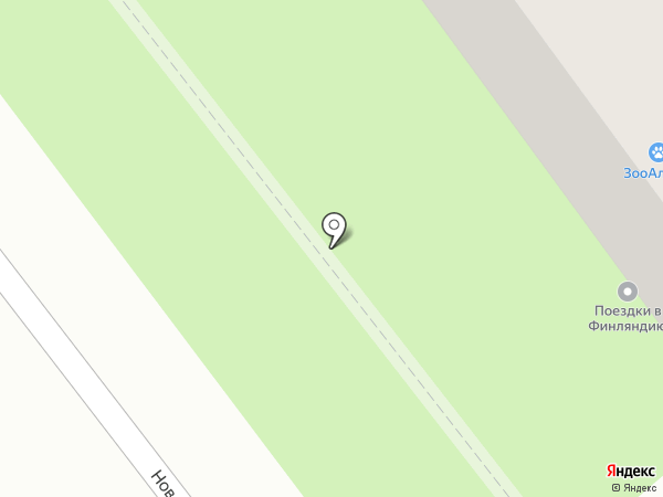 Диадема на карте Великого Новгорода