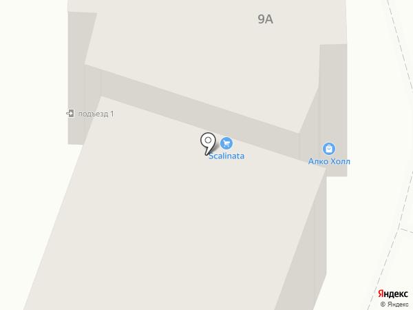 Алко Холл на карте Великого Новгорода