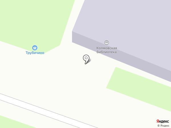 Колмовская библиотека на карте Великого Новгорода