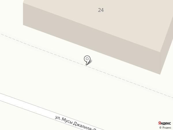 Аспект-Н на карте Великого Новгорода