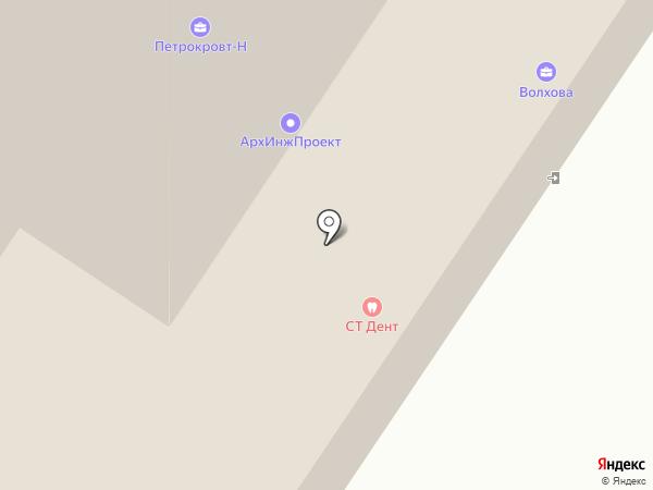 Ломбард-Оникс на карте Великого Новгорода