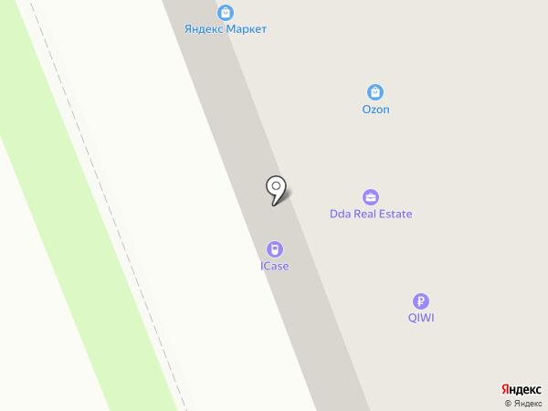 Какаду на карте Великого Новгорода