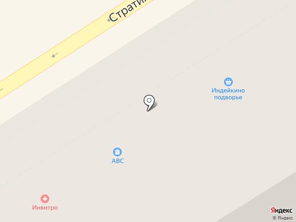 Ясные зори на карте Великого Новгорода
