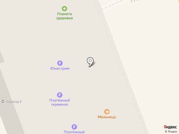 Киоск фастфудной продукции на карте Великого Новгорода