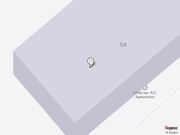 Детская музыкальная школа им. А.С. Аренского на карте Великого Новгорода