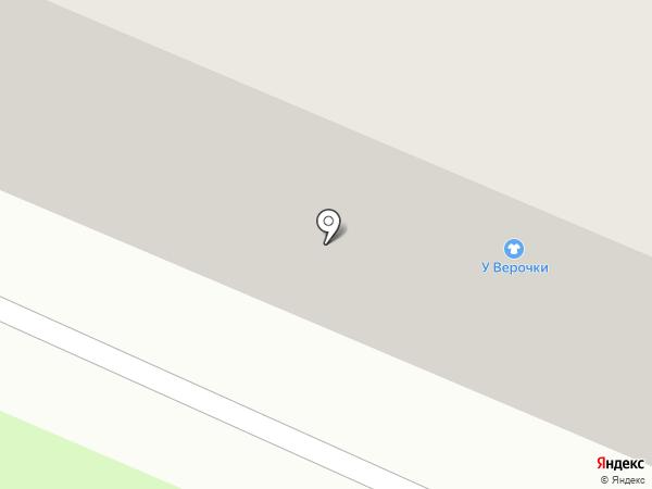 У Верочки на карте Великого Новгорода