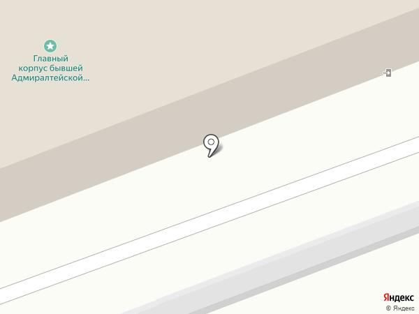 Военная комендатура Новгородского гарнизона на карте Великого Новгорода
