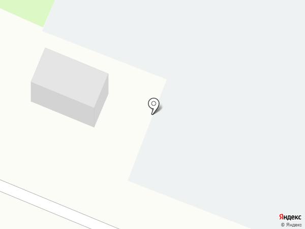 Автостоянка на Луговой на карте Великого Новгорода