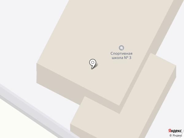 ДЮСШ №3 на карте Великого Новгорода