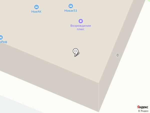 Мастер53 на карте Великого Новгорода