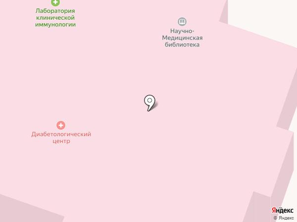 Научная медицинская библиотека, ГБУЗ на карте Великого Новгорода