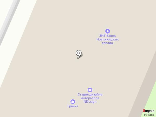 Эвакуатор на карте Великого Новгорода