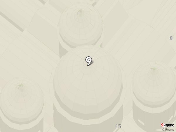Софийский собор на карте Великого Новгорода