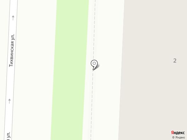 Китри на карте Великого Новгорода
