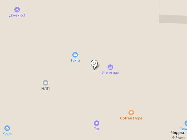 Фонд социального страхования РФ на карте Великого Новгорода