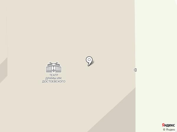 Новгородский академический театр драмы им. Ф.М. Достоевского на карте Великого Новгорода