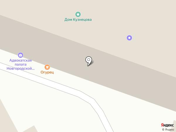 Цепляев и партнеры на карте Великого Новгорода