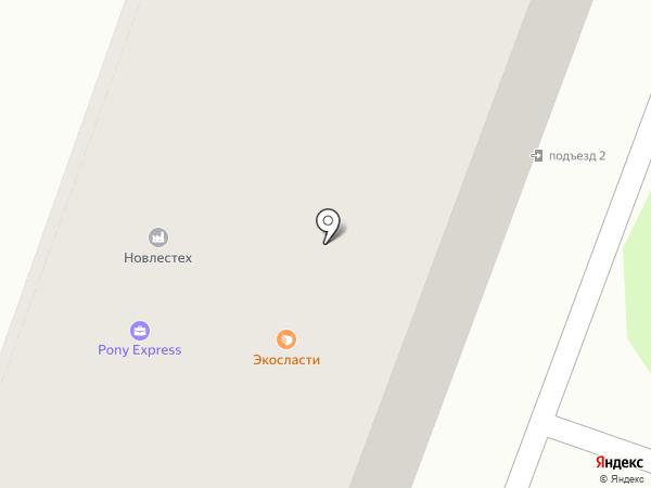 Глянец на карте Великого Новгорода