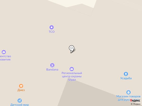 Усадьба на карте Великого Новгорода