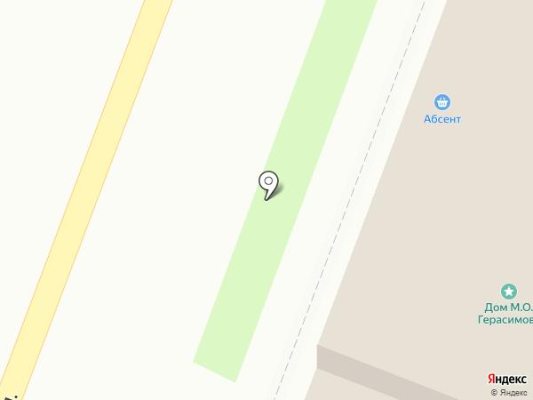 Абсент на карте Великого Новгорода