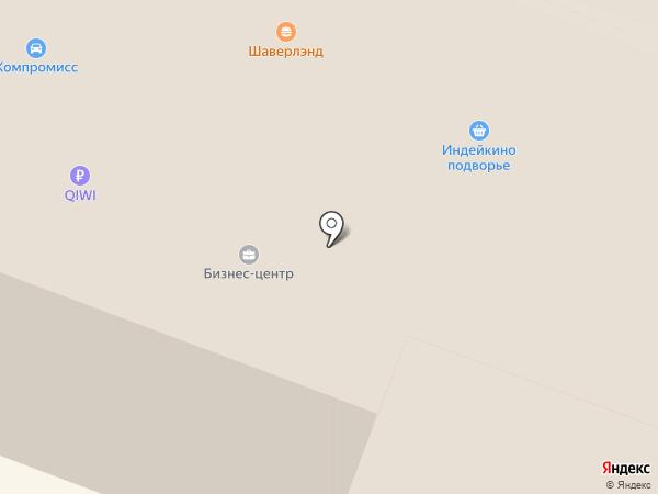 Псковский мясокомбинат на карте Великого Новгорода