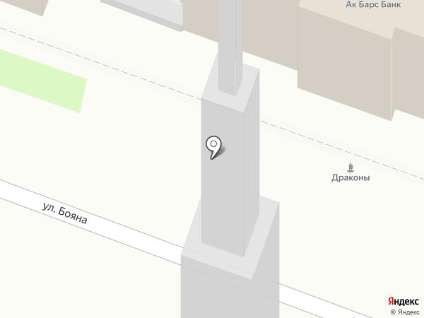 ПК на карте Великого Новгорода