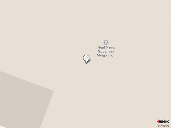 Стоматологический центр на карте Великого Новгорода