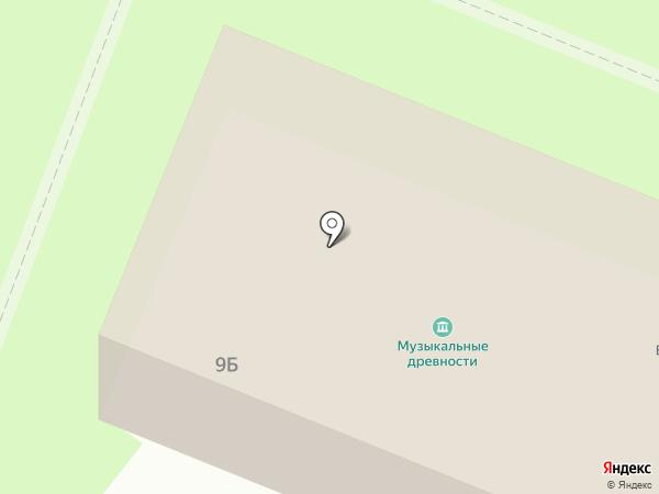 Центр музыкальных древностей В.И. Поветкина, АНО на карте Великого Новгорода