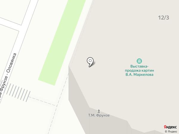 President на карте Великого Новгорода