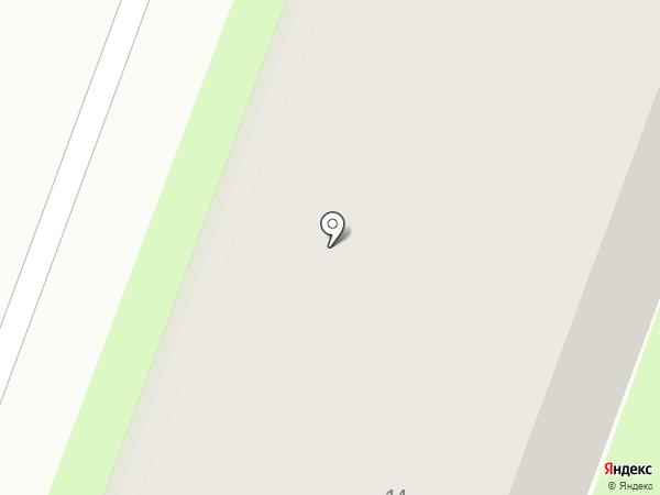 Фабрика Окон ВН на карте Великого Новгорода