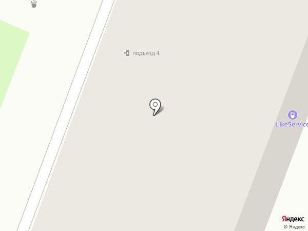 Like service на карте Великого Новгорода
