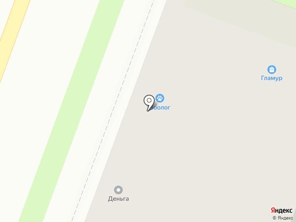 ГЛяМурр на карте Великого Новгорода