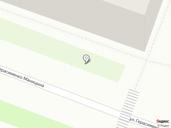 Московская ярмарка на карте Великого Новгорода