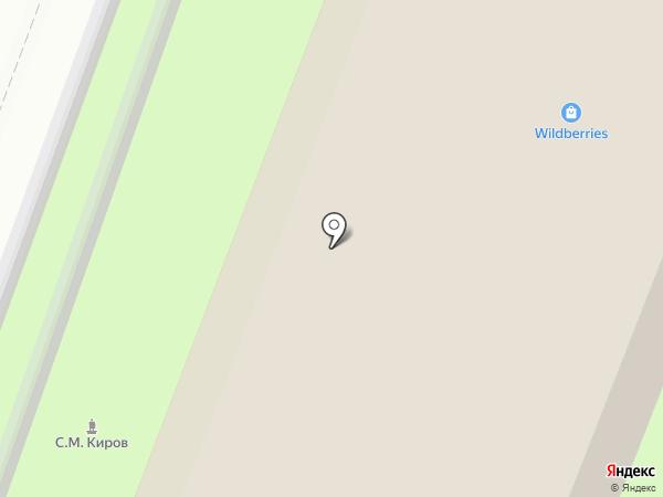 Фанг на карте Великого Новгорода