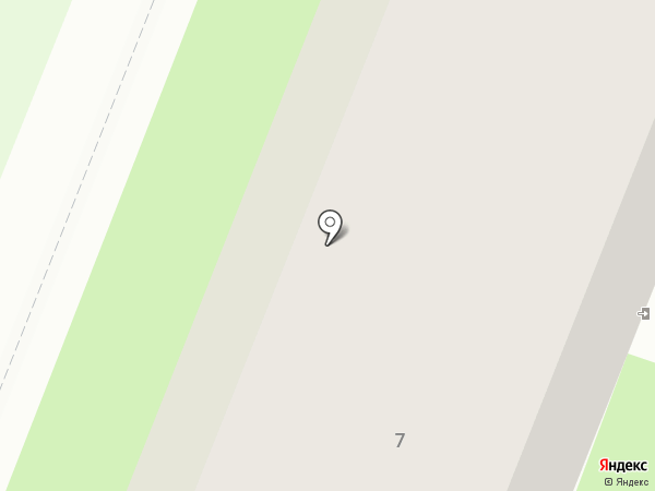 Натурель на карте Великого Новгорода