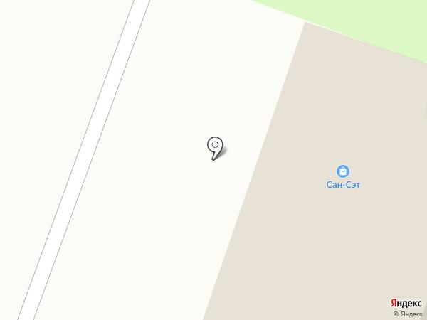 Сан-Сэт Стройдизайн+ на карте Великого Новгорода