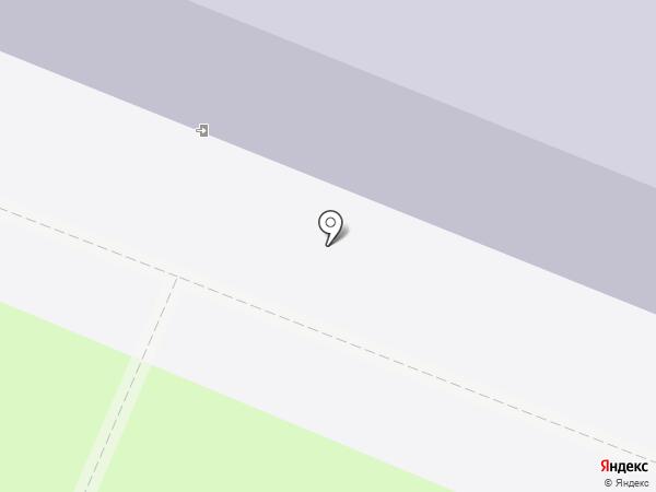 Средняя общеобразовательная школа №8 на карте Великого Новгорода