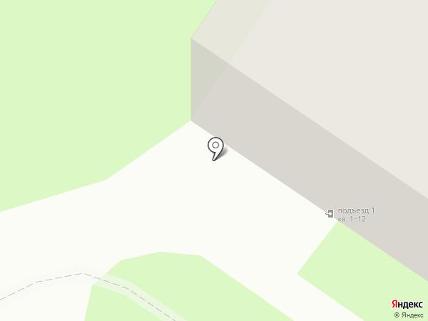 Строй Пласт на карте Великого Новгорода