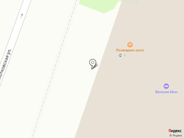 Welcome Inn на карте Великого Новгорода