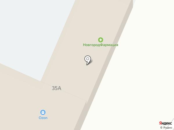 Аптечный пункт на карте Трубичино