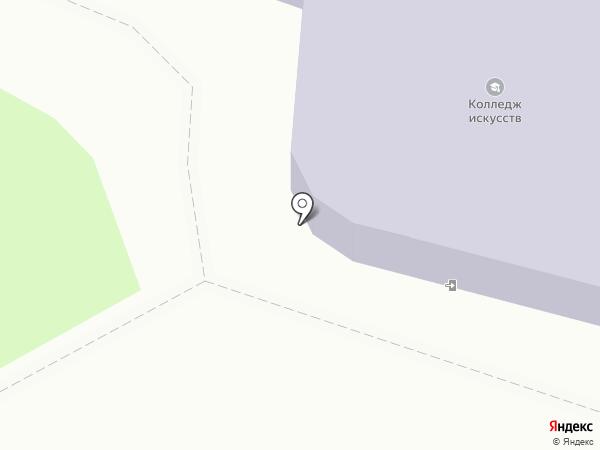 Новгородский областной колледж искусств им. С.В. Рахманинова на карте Великого Новгорода