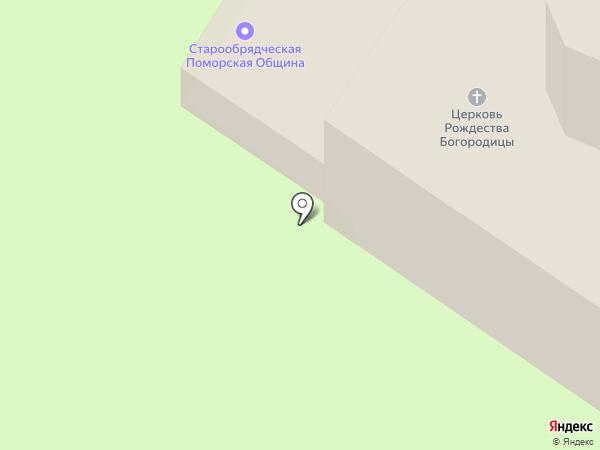 Новгородская старообрядческая поморская община на карте Великого Новгорода
