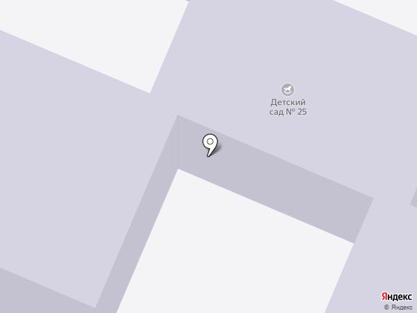 Детский сад №25 на карте Трубичино