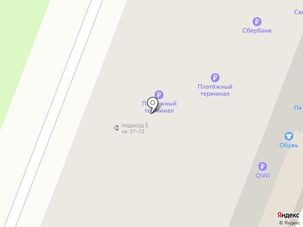 Калинка на карте Великого Новгорода